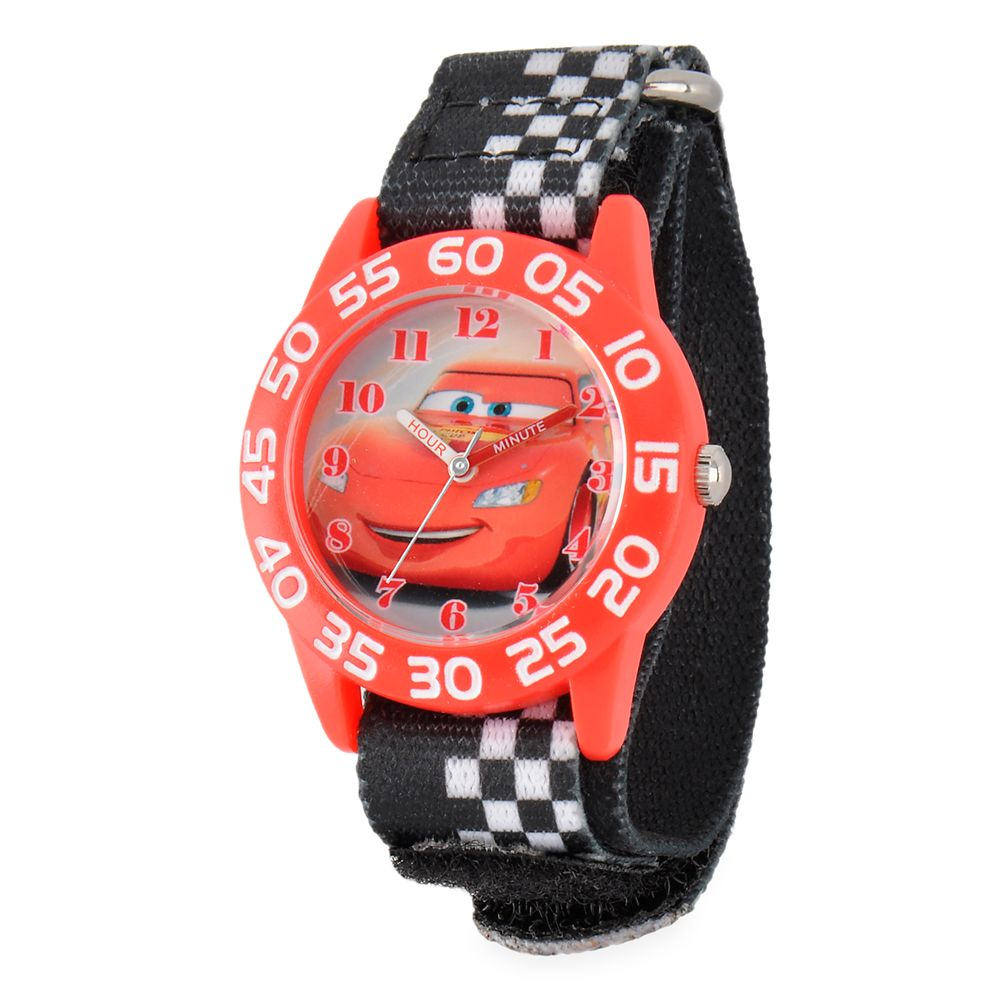 Lightning McQueen Time Teacher Watch for Kids – Cars