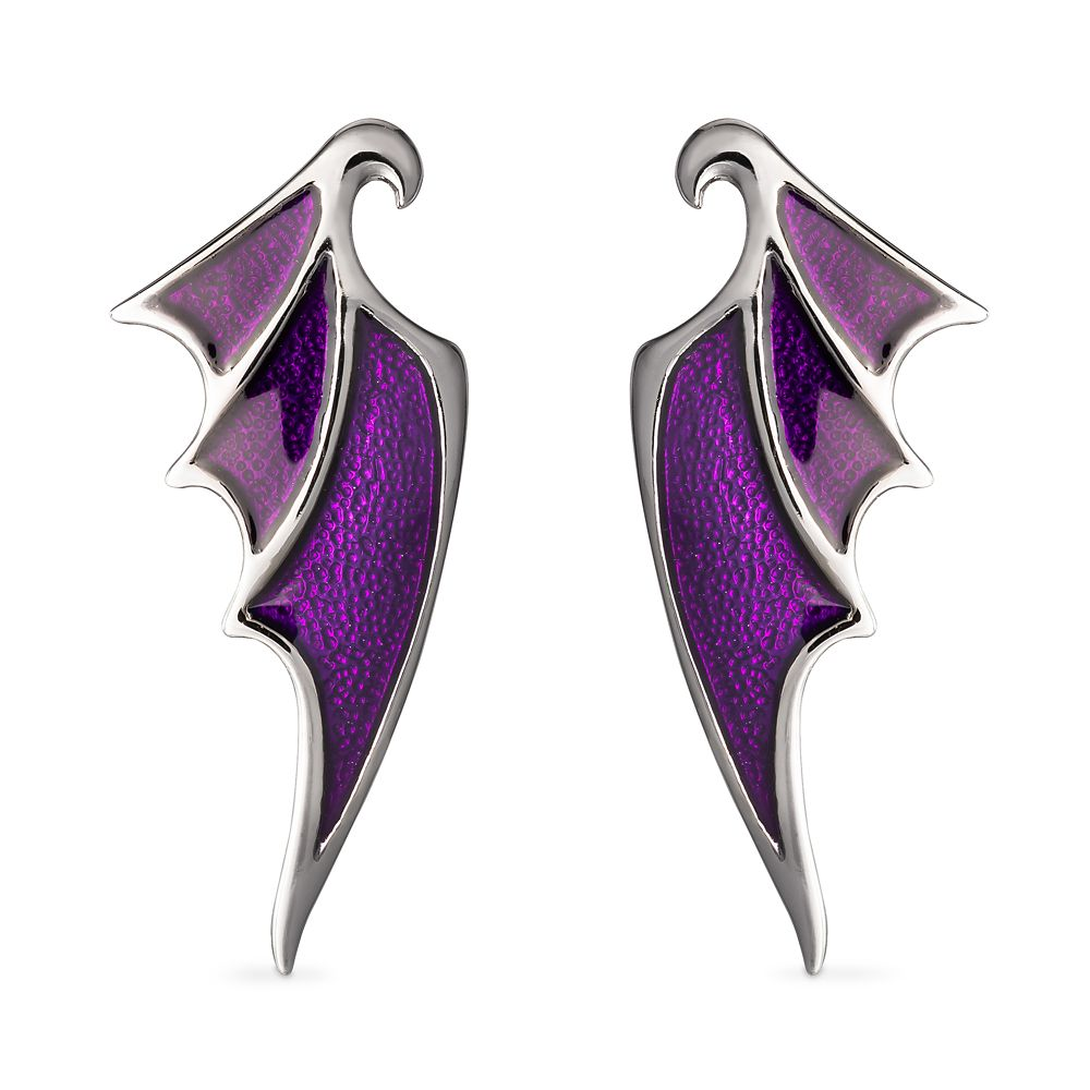 Maleficent Dragon Wing Earrings by RockLove