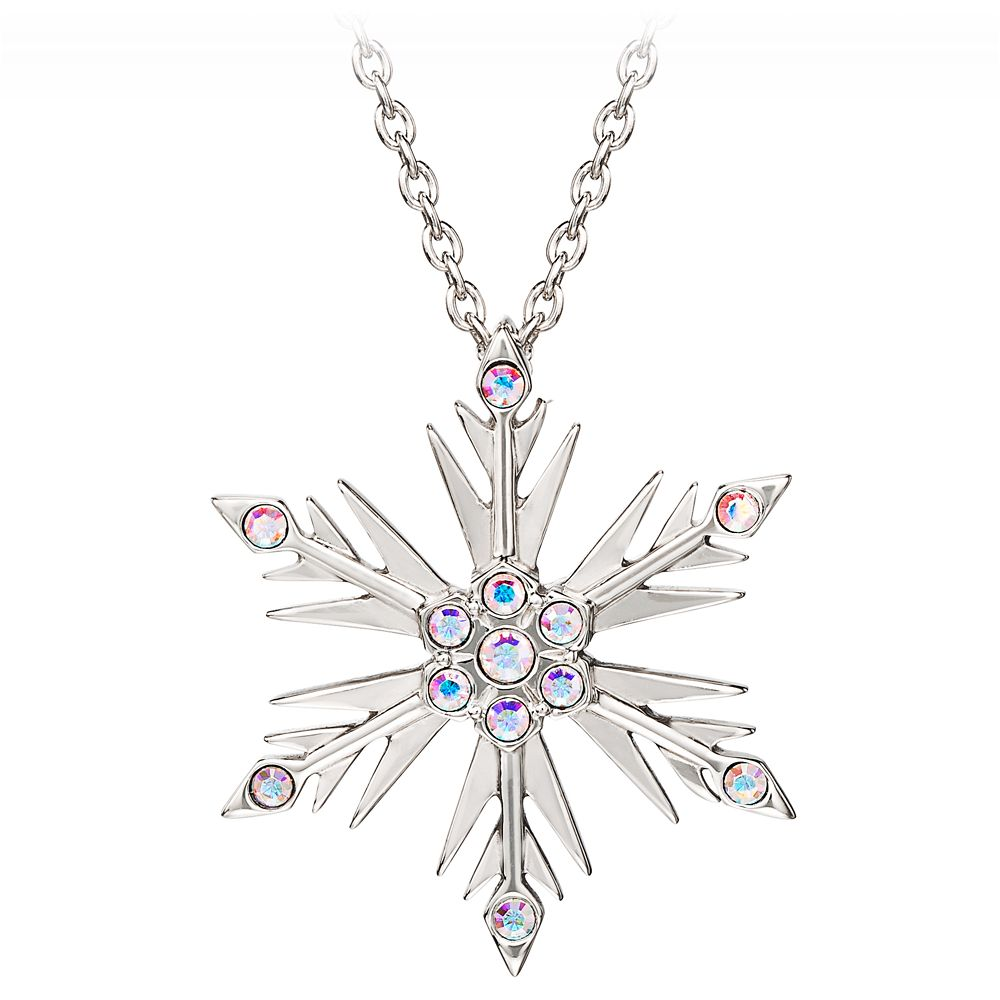 Frozen 2 Crystal Snowflake Pendant by RockLove