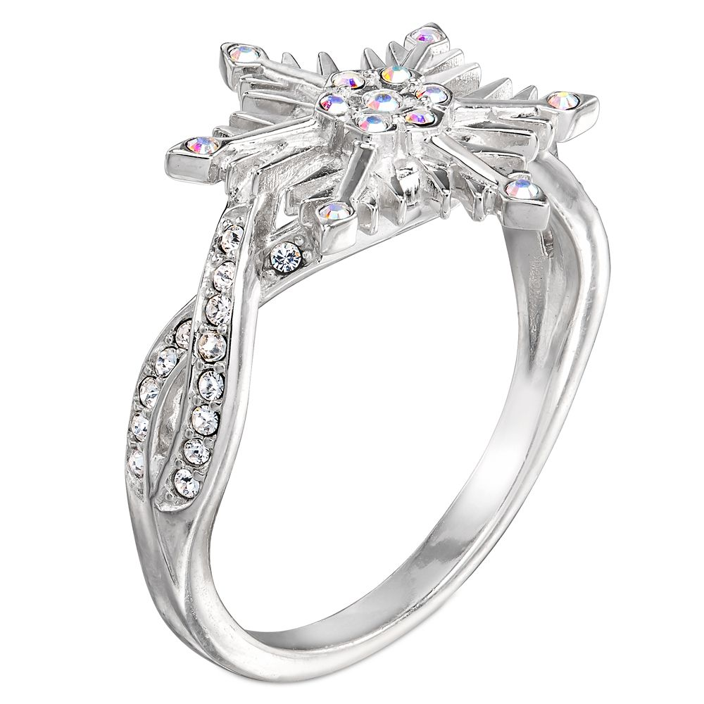Frozen 2 Crystal Snowflake Ring by RockLove