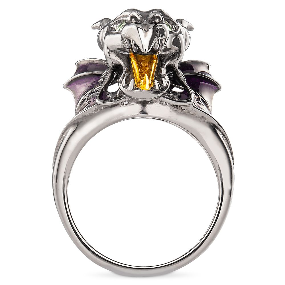 Maleficent Dragon Head Ring by RockLove