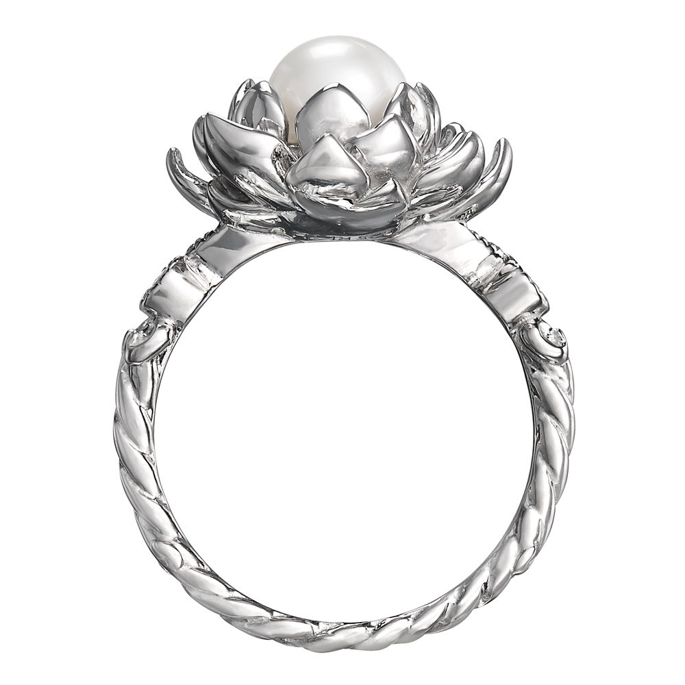 The Princess and the Frog Water Lily Pearl Ring by RockLove