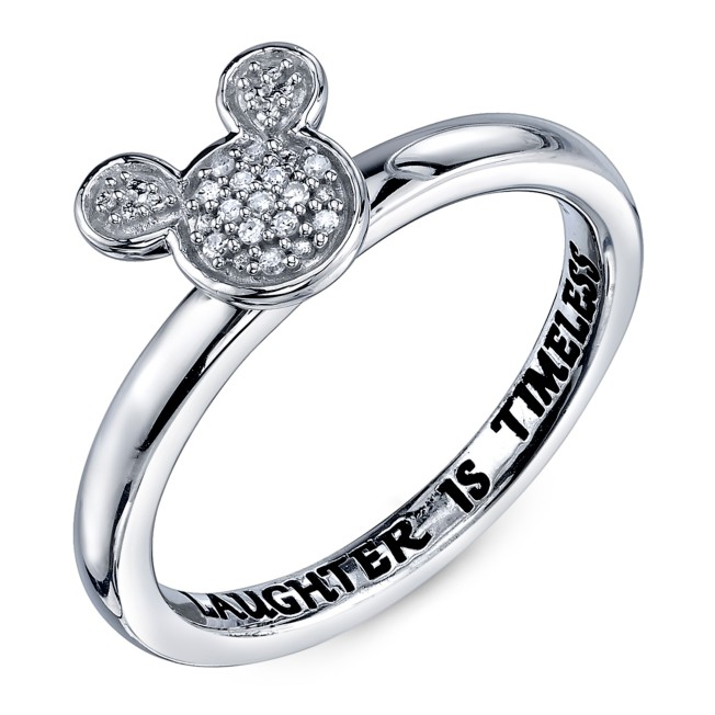 Mickey Mouse Diamond Ring for Women