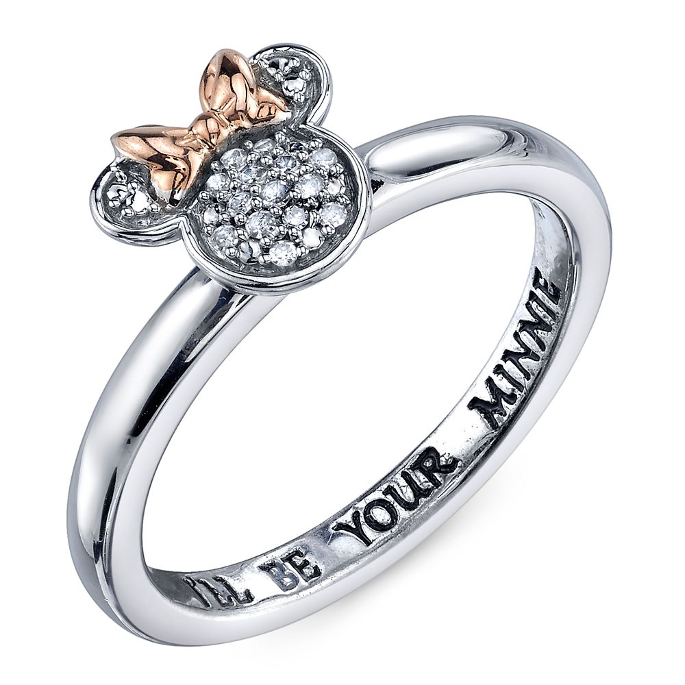 Minnie Mouse Diamond Ring for Women