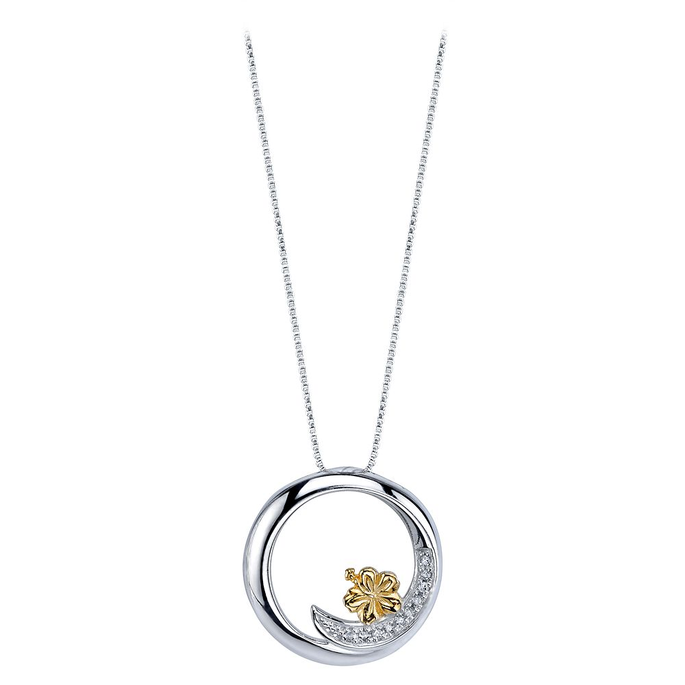 Lilo & Stitch Ohana Means Family Diamond Necklace