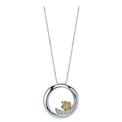 Lilo & Stitch Ohana Means Family Diamond Necklace