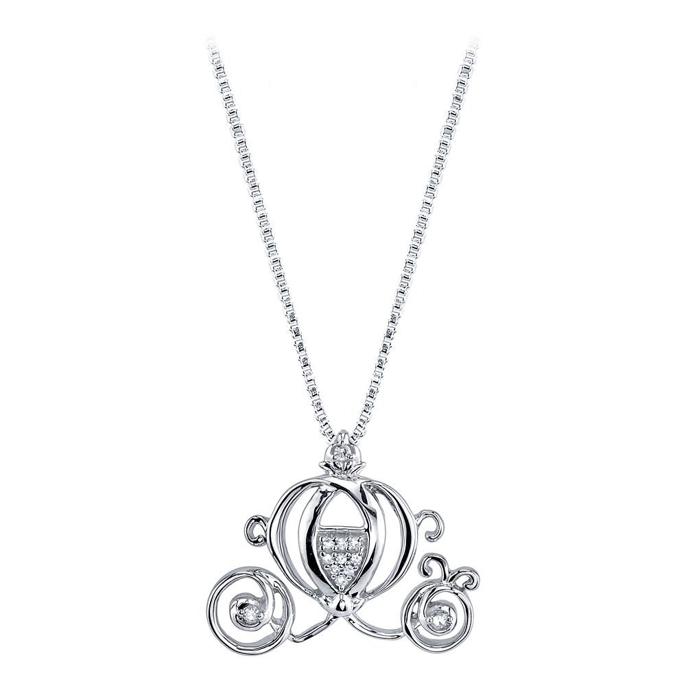 Cinderella Coach Diamond Necklace