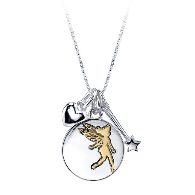 Tinker Bell ''Dreams Are Forever'' Necklace for Women