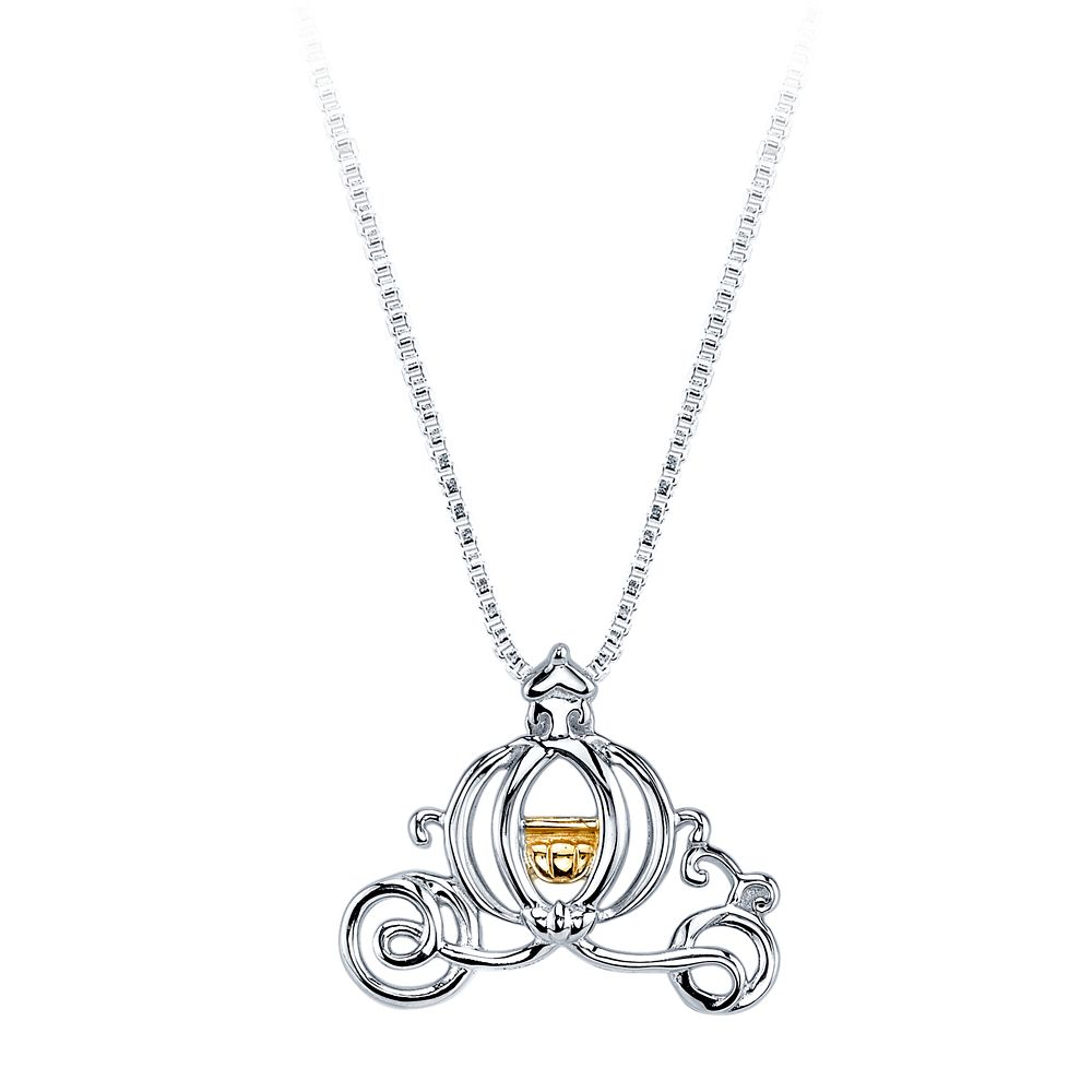 Cinderella's Carriage Necklace for Women