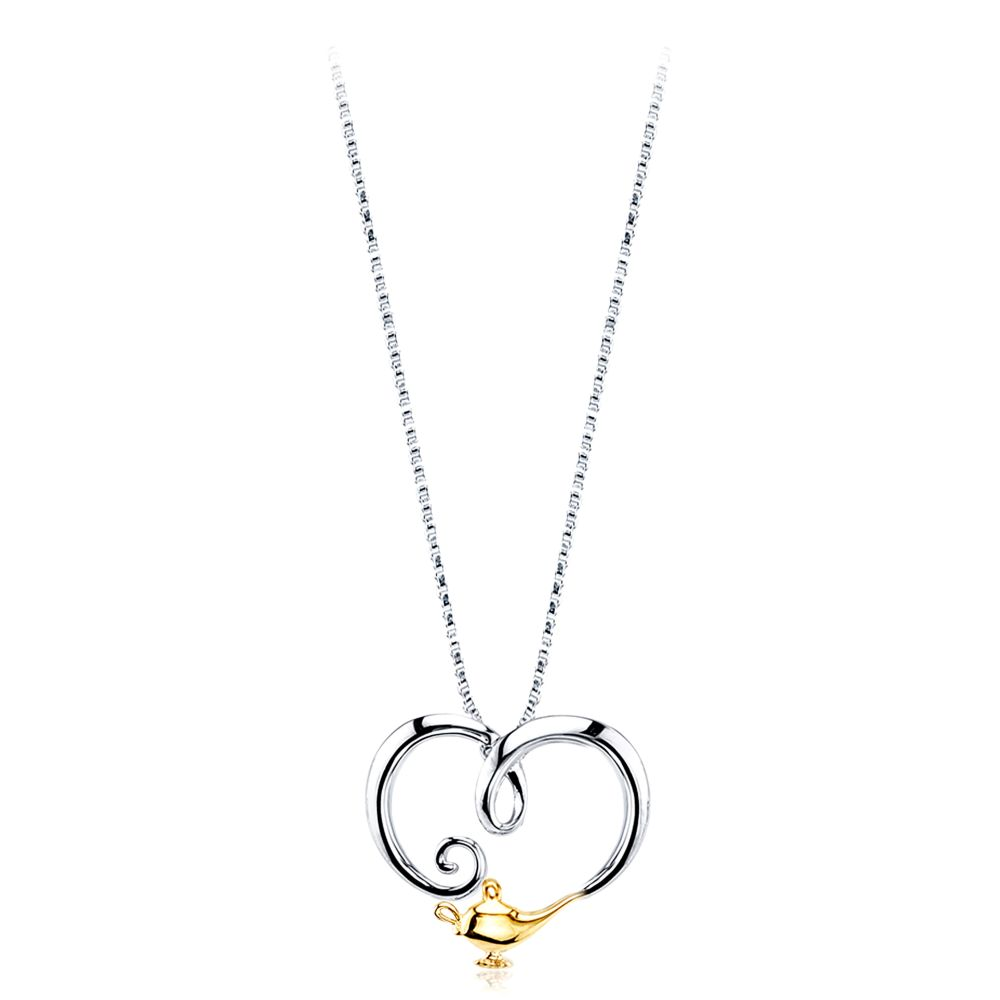 Genie Sterling Silver Necklace – Aladdin