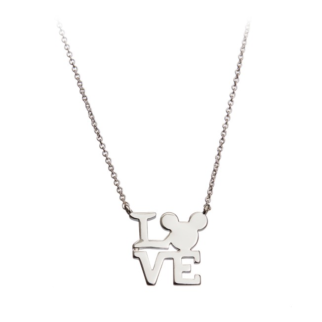 Mickey Mouse Love Necklace