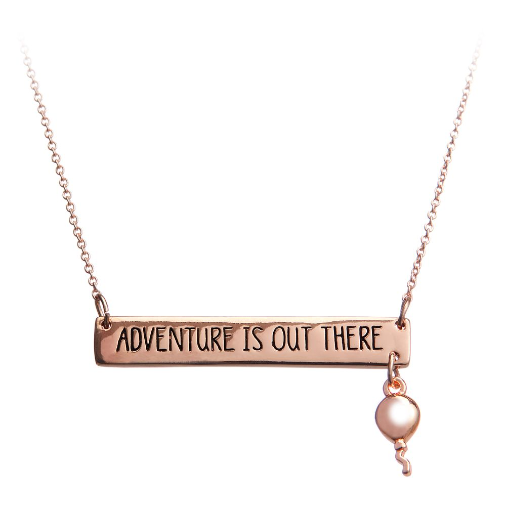 Up ''Adventure Is Out There'' Necklace