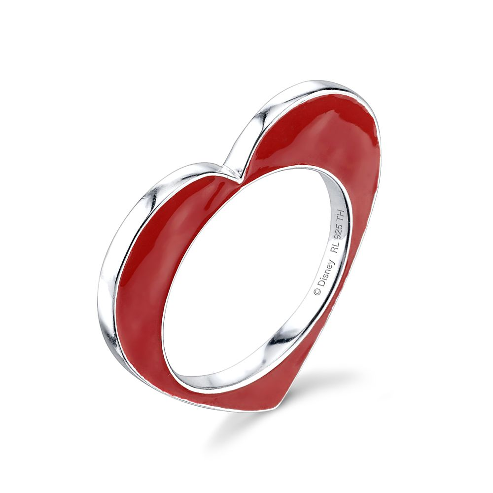 Alice in Wonderland Heart Stacker Ring by RockLove