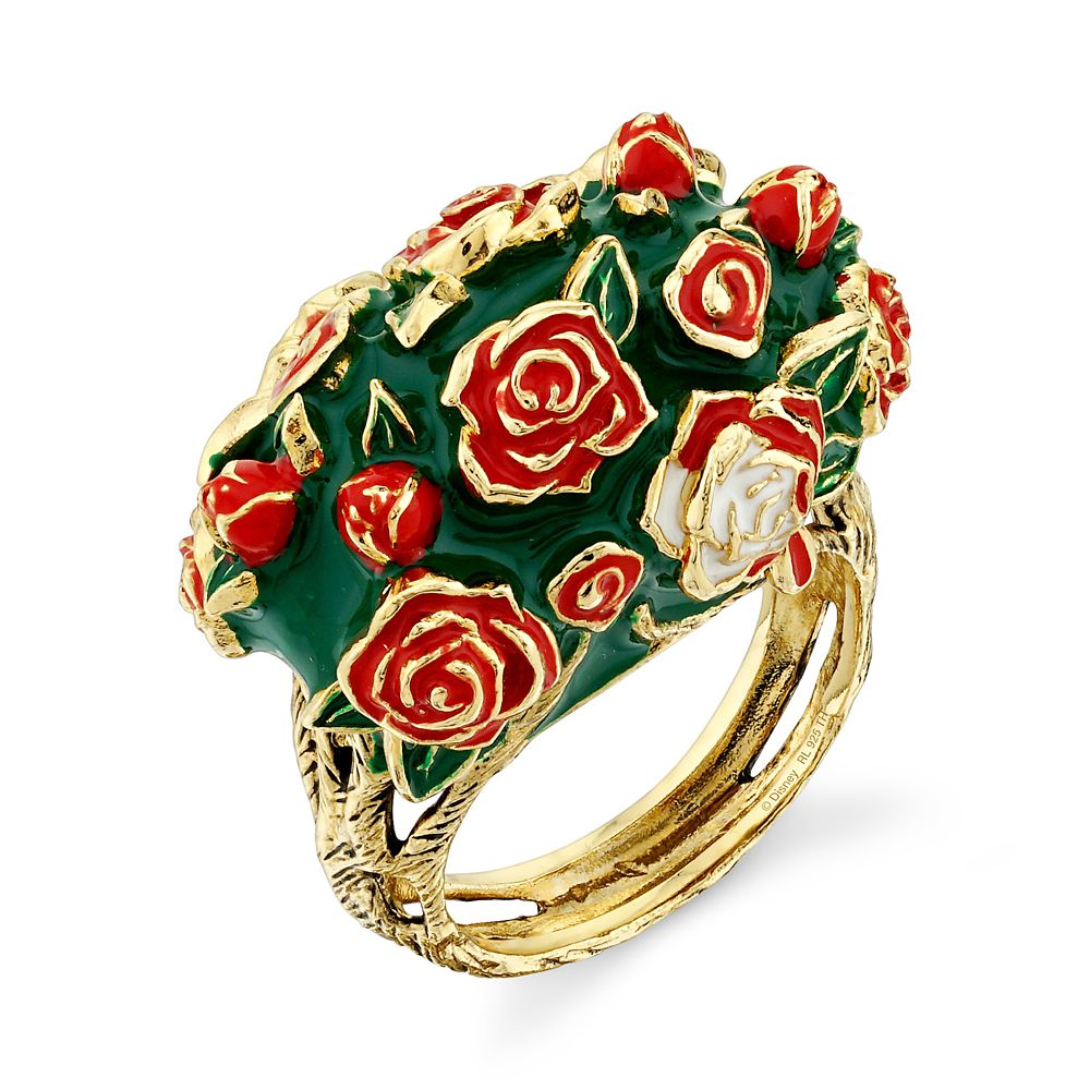 Alice in Wonderland Roses Ring by RockLove Official shopDisney
