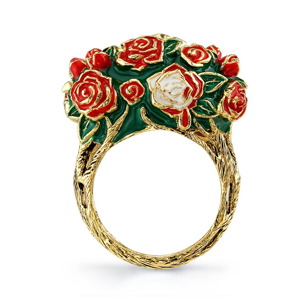 Alice in Wonderland Roses Ring by RockLove