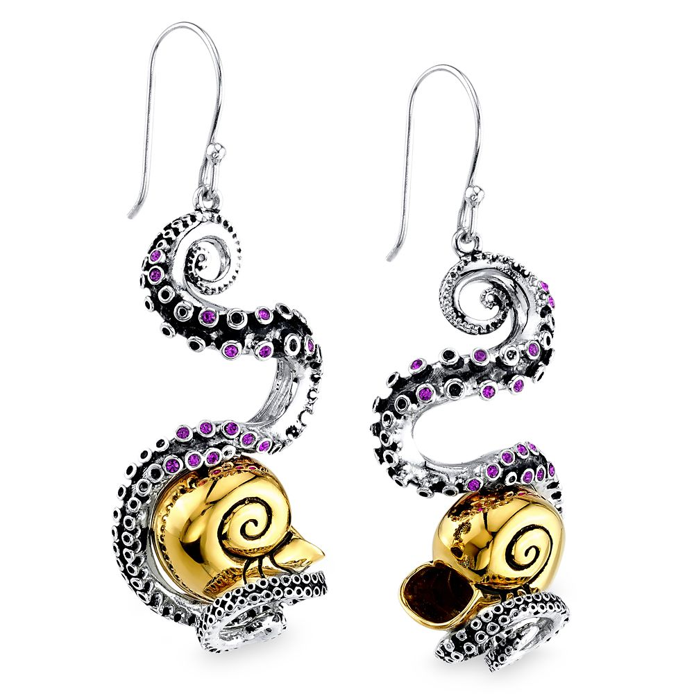 Ursula Tentacle Earrings by RockLove  The Little Mermaid Official shopDisney