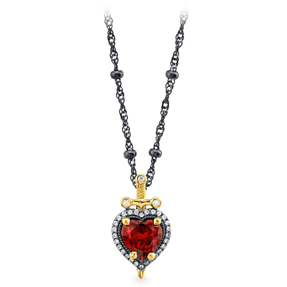 Evil Queen Dagger Heart Necklace by RockLove  Snow White and the Seven Dwarfs Official shopDisney