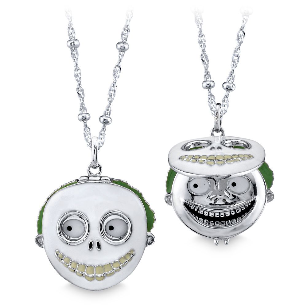 Barrel Mask Necklace by RockLove – The Nightmare Before Christmas