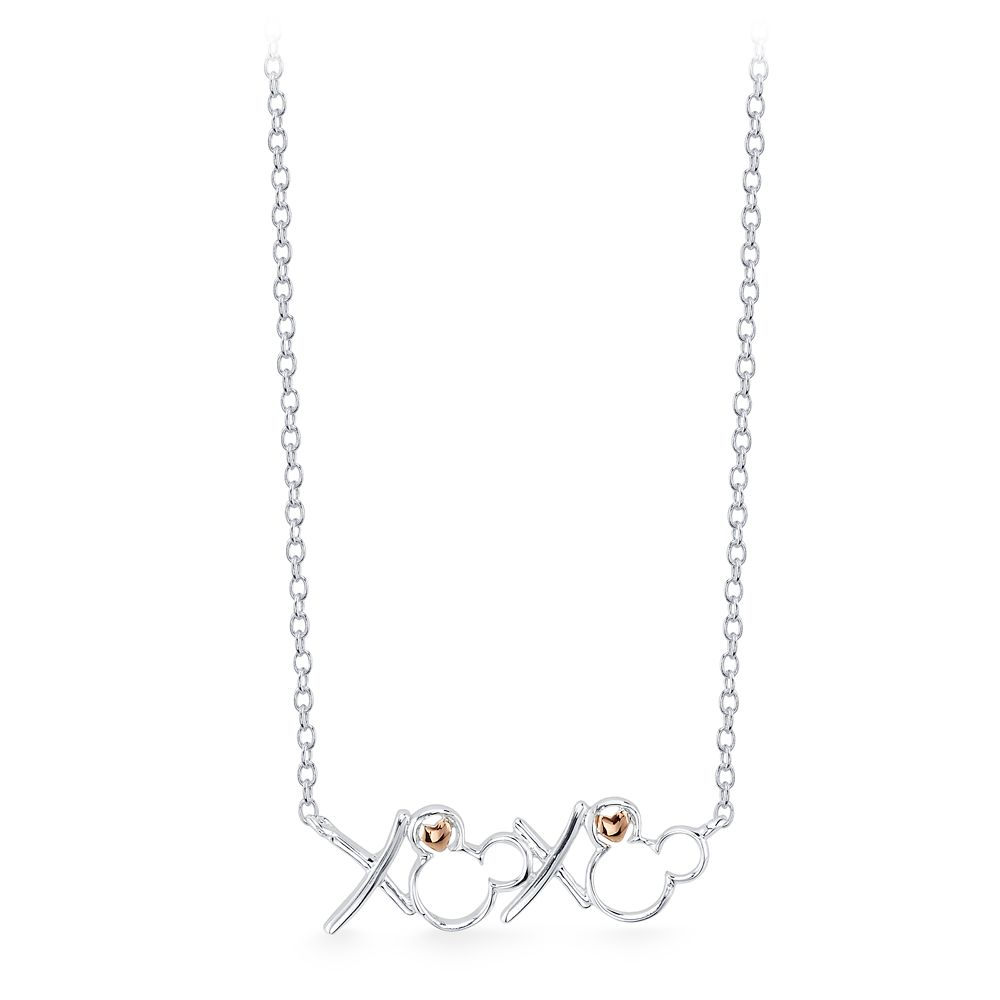 Mickey Mouse ''XOXO'' Necklace