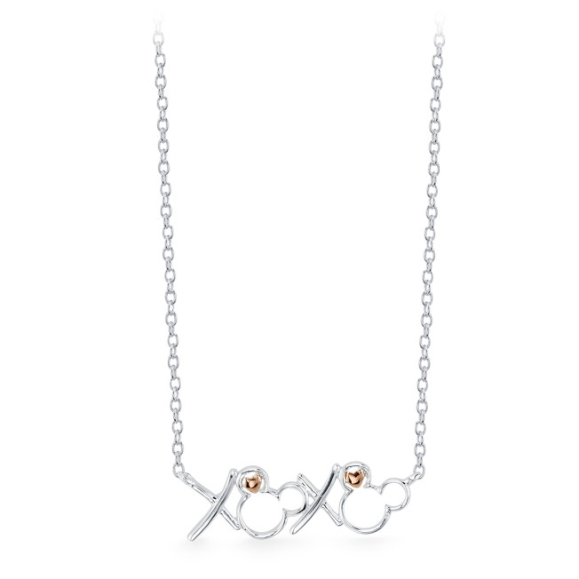 Mickey Mouse ''XOXO'' Necklace