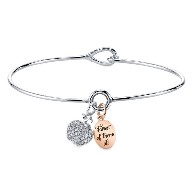 Snow White Two-Tone Bracelet
