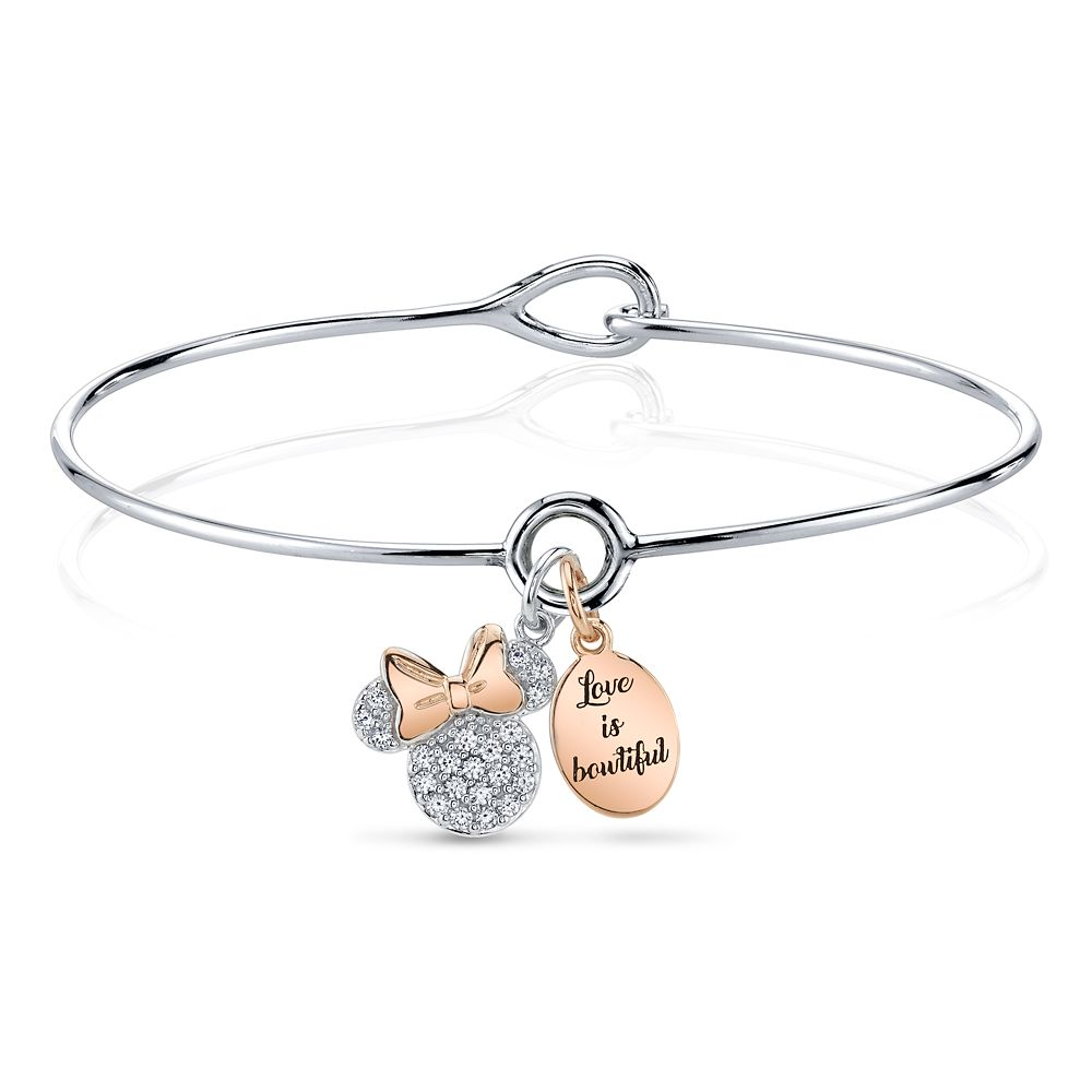 Minnie Mouse Two-Tone Bracelet Official shopDisney