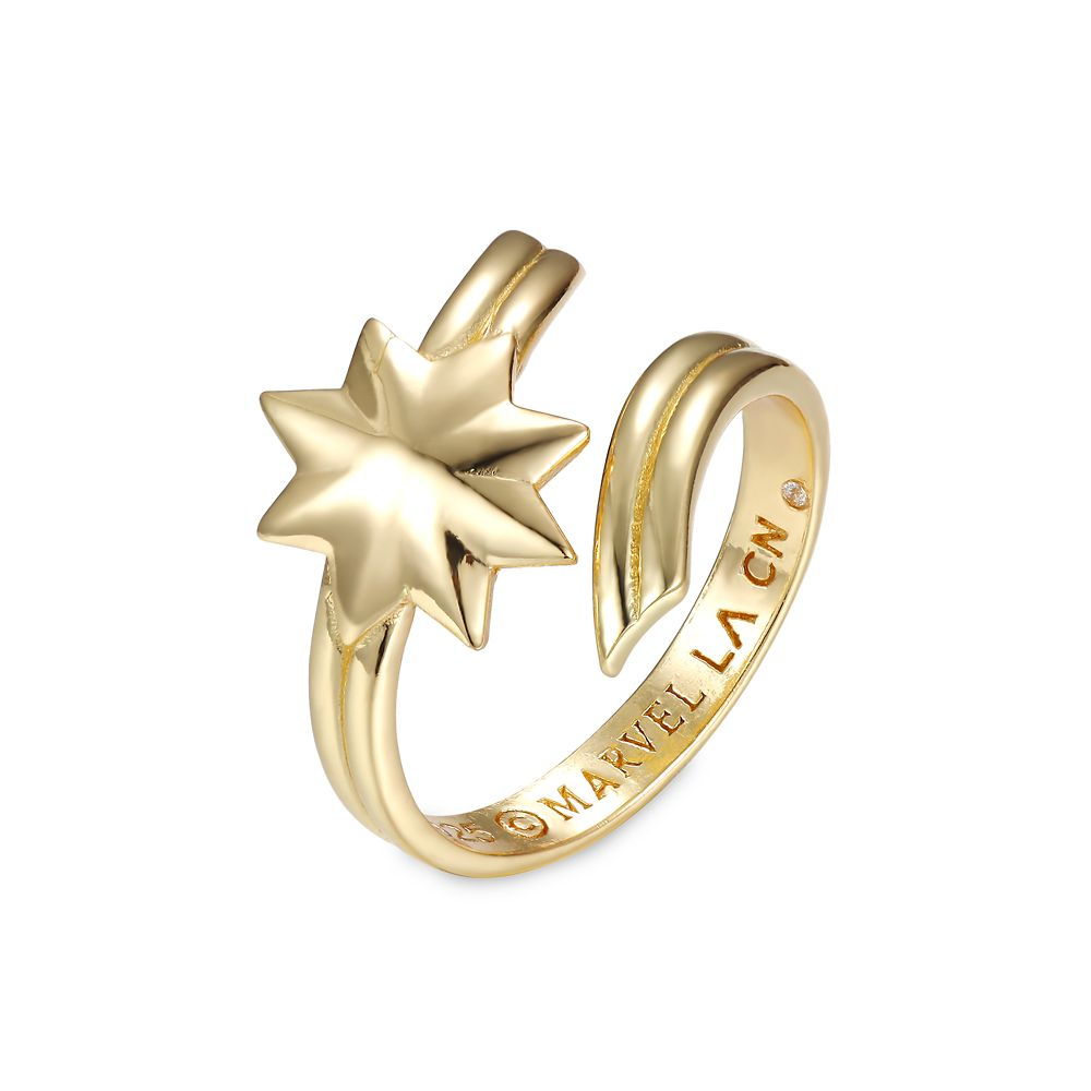 Marvel's Captain Marvel Star Wrap Around Ring