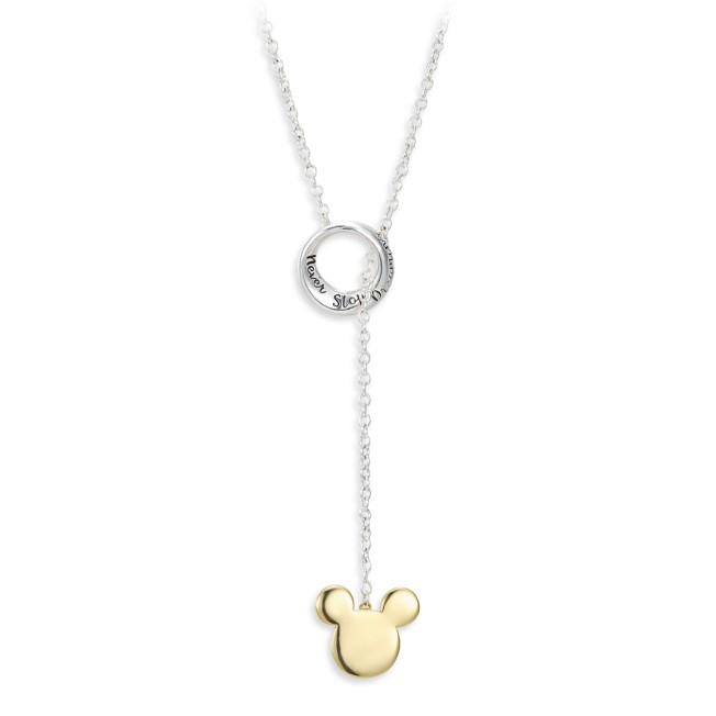 Mickey Mouse ''Never Stop Dreaming'' Necklace