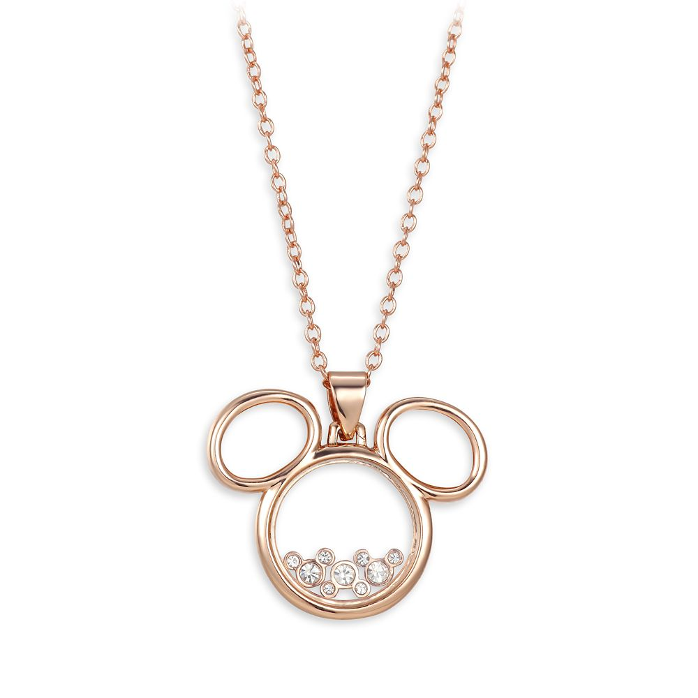 Mickey Mouse Silhouette Necklace