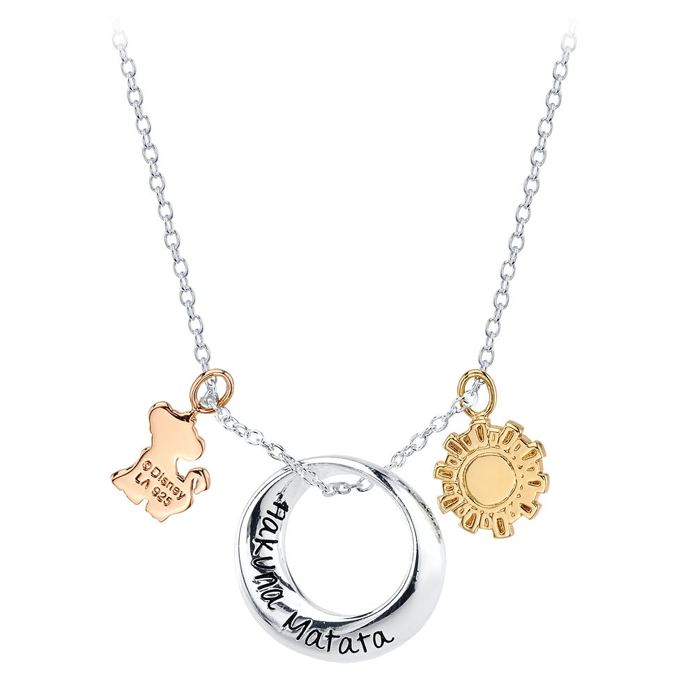 Hakuna Matata Pendant Necklace – The Lion King