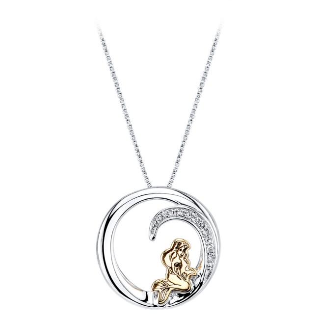 Ariel Diamond Pendant Necklace