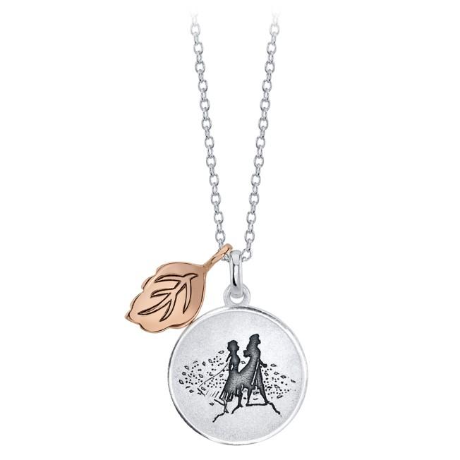 Anna and Elsa Pendant Necklace – Frozen 2