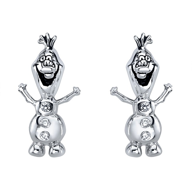 Olaf Earrings – Frozen 2