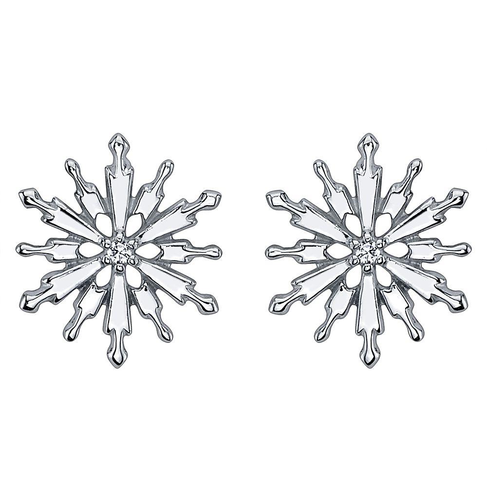 Snowflake Earrings – Frozen 2