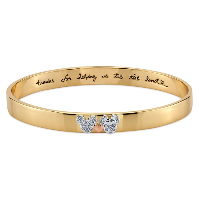 Mickey and Minnie Mouse ''Tie the Knot'' Bracelet