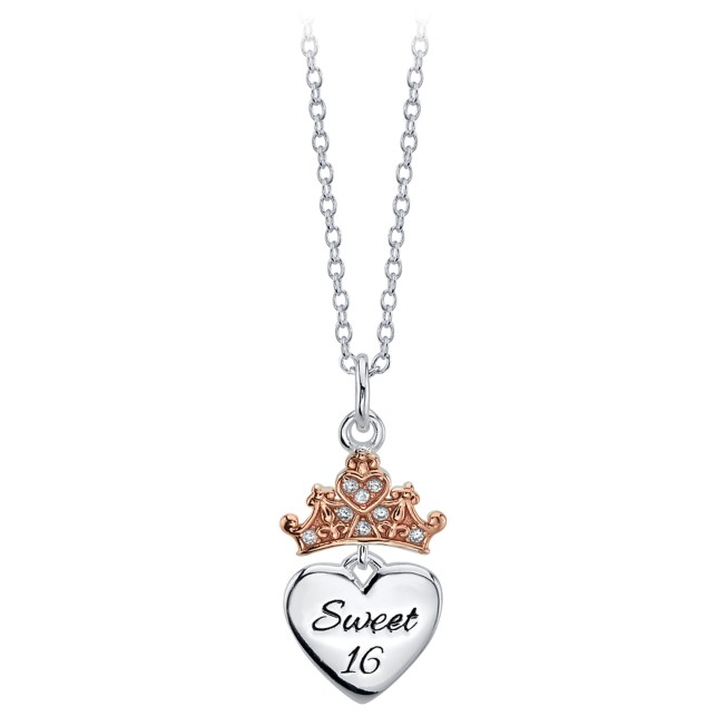 Disney Princess ''Sweet 16'' Necklace