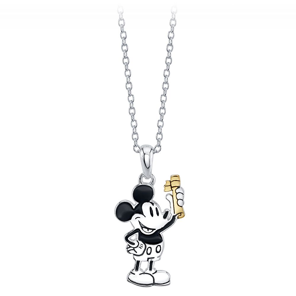 Mickey Mouse Diploma Pendant Necklace Official shopDisney