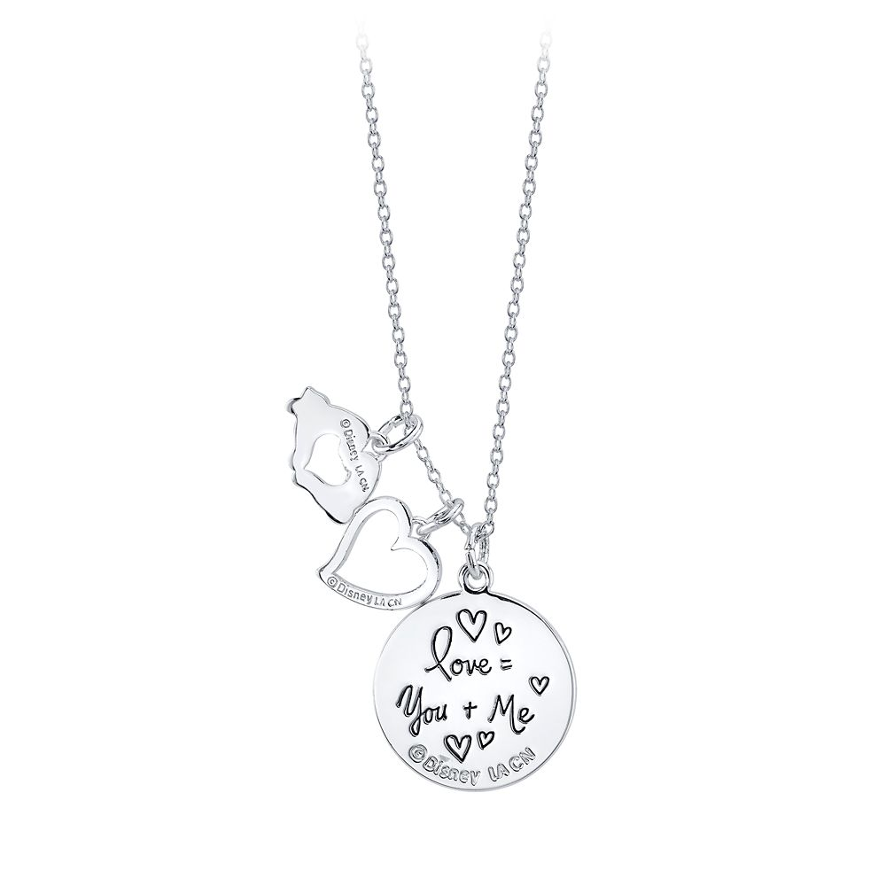 Mickey Mouse Heart Multi-Pendant Necklace