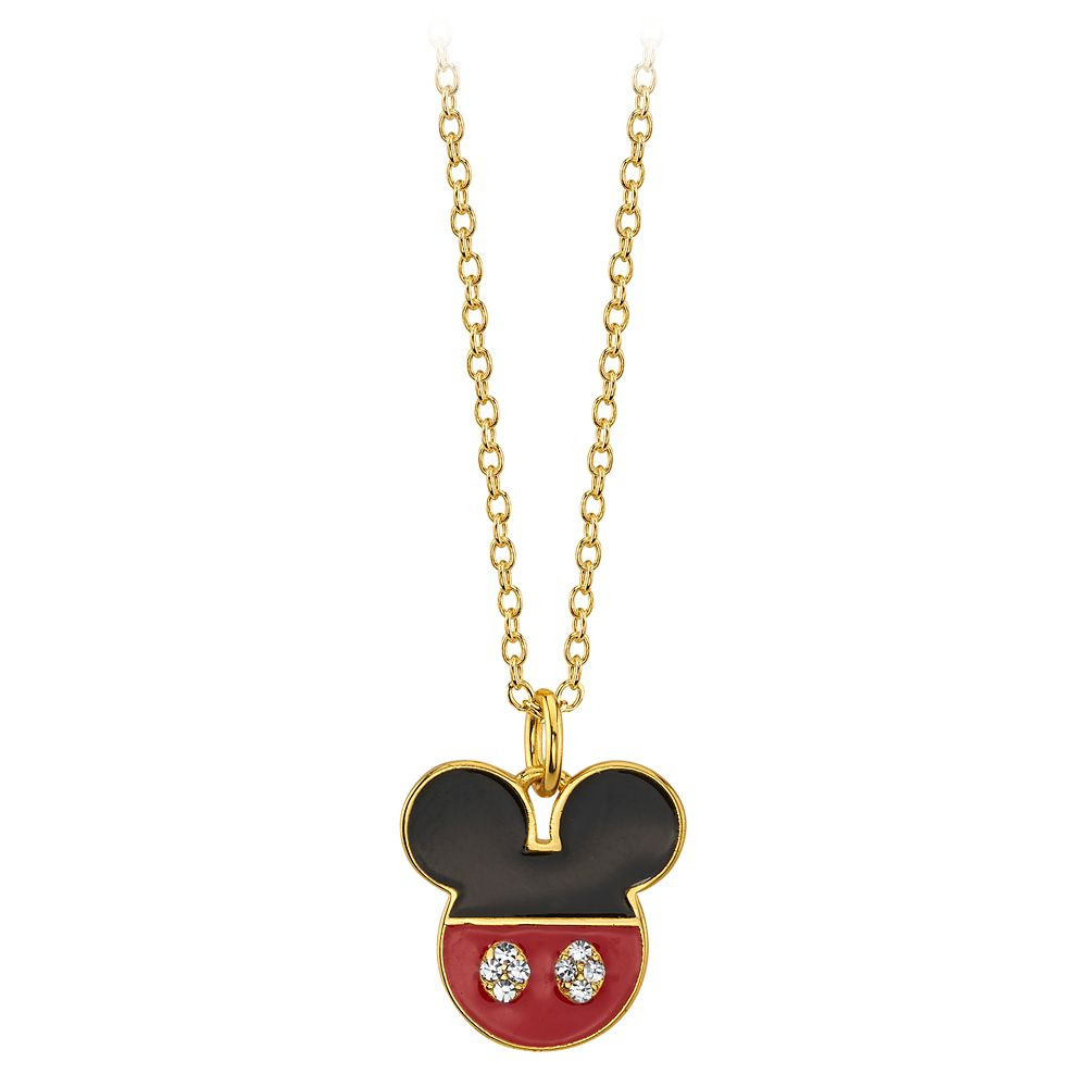 Mickey Mouse Icon Pendant Necklace