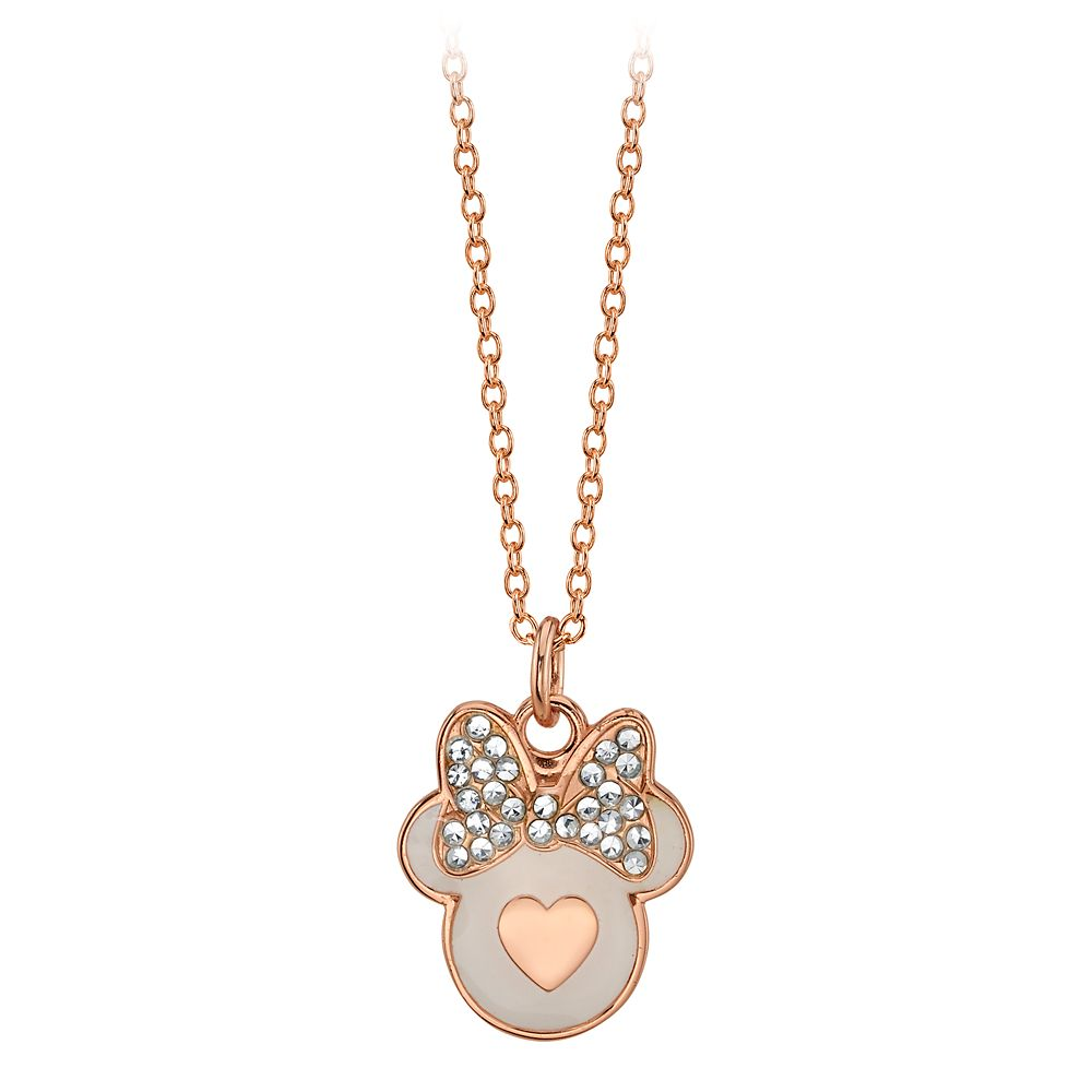 Minnie Mouse Icon Pendant Necklace
