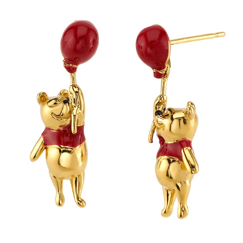 Winnie the Pooh Earrings by RockLove