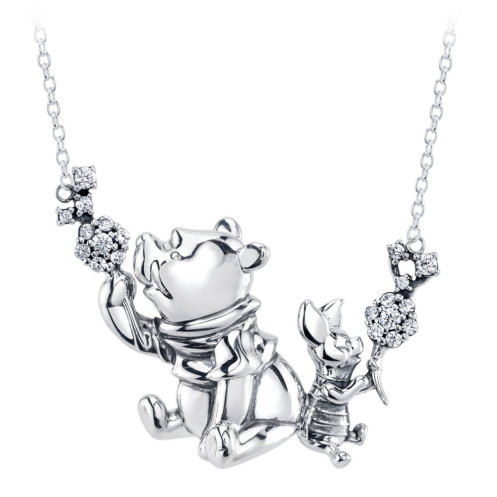 Winnie the Pooh and Piglet Necklace by RockLove