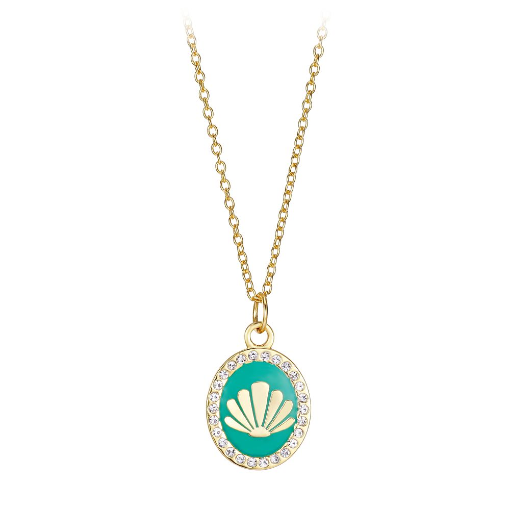 The Little Mermaid Seashell Pendant Necklace