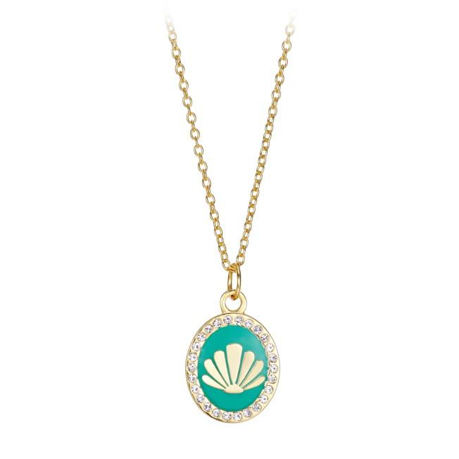 The Little Mermaid Seashell Pendant Necklace