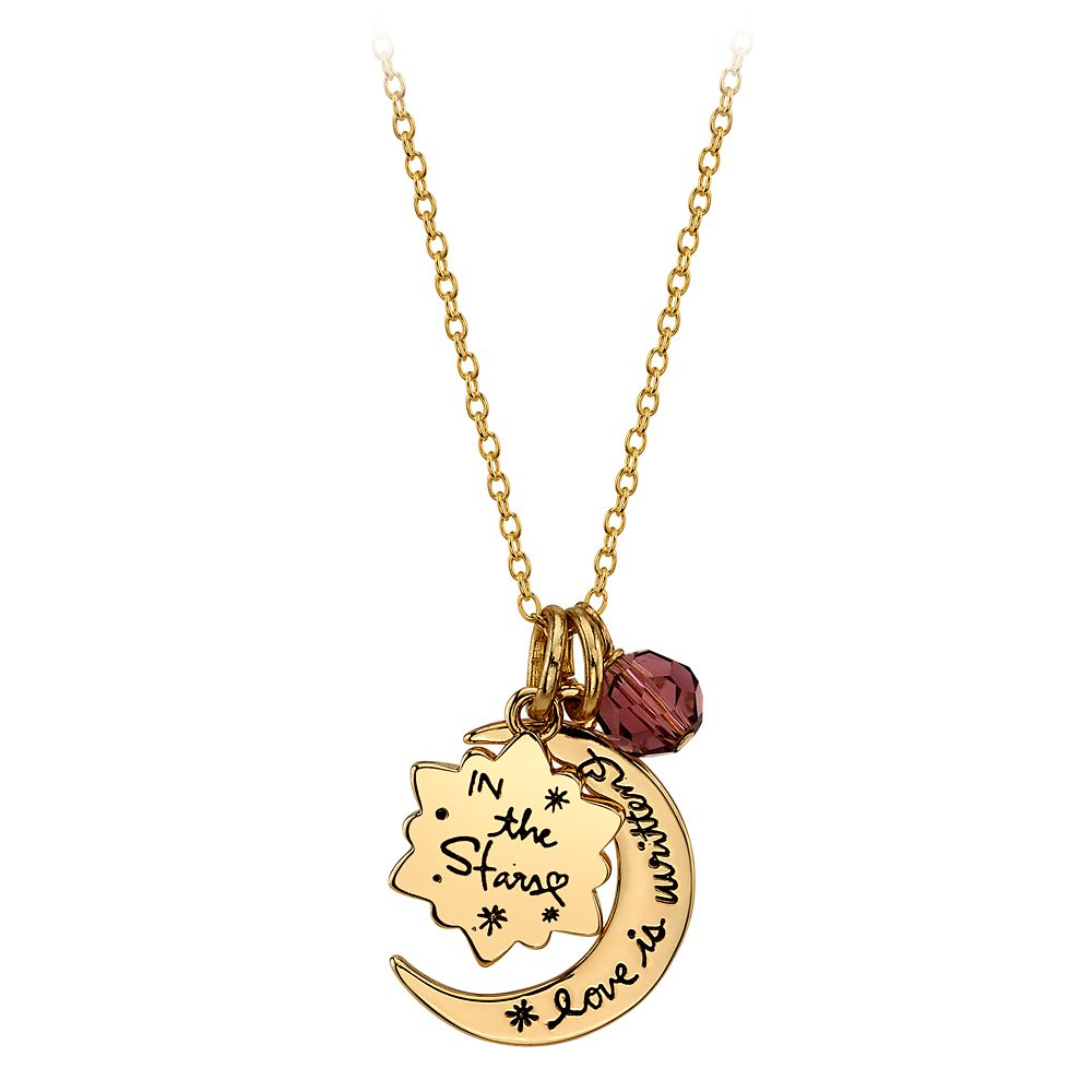 Aladdin ''Love Is Written in the Stars'' Pendant Necklace – Live Action Film