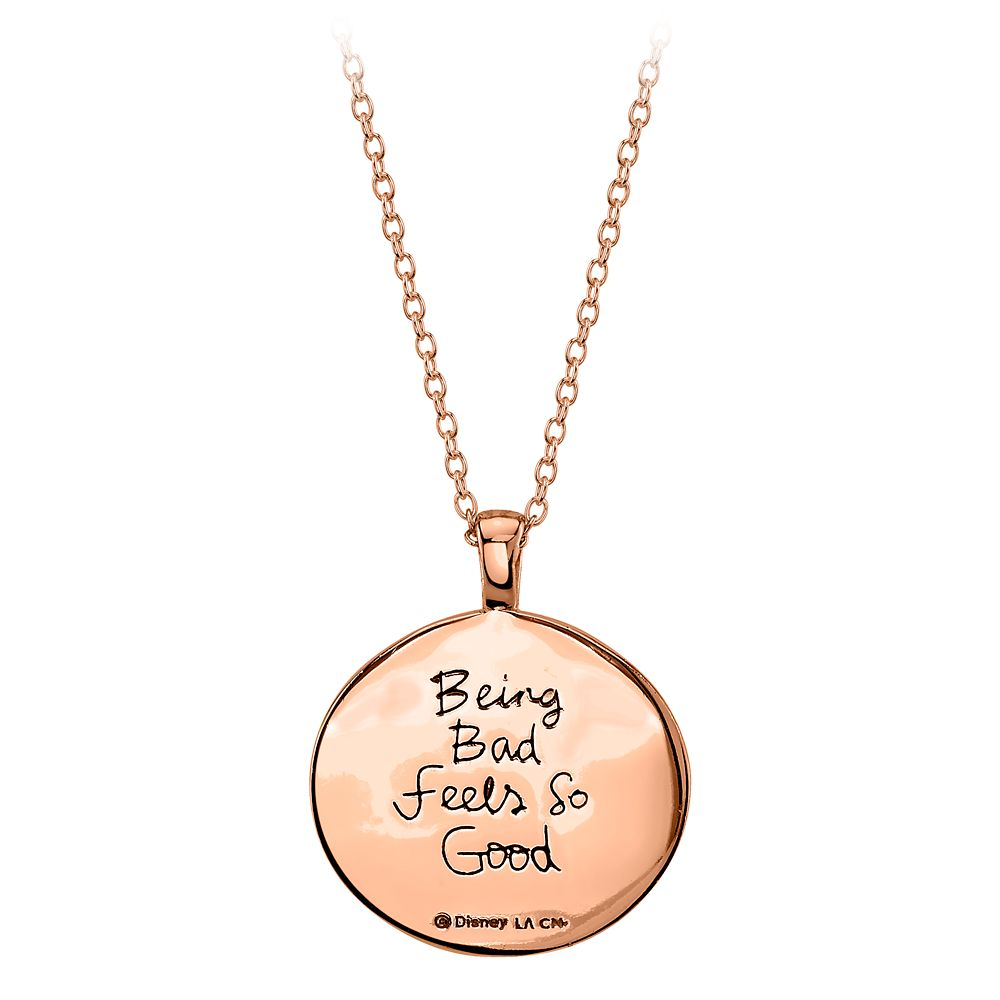 Poison Apple Rose Gold Pendant Necklace – Snow White and the Seven Dwarfs