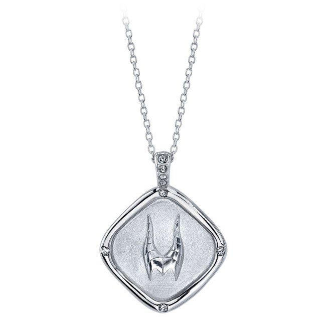 Maleficent Horns Pendant Necklace