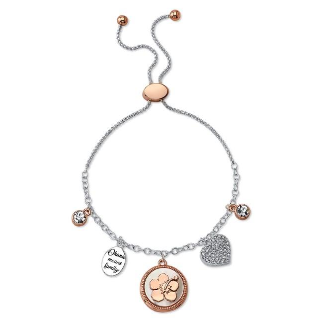Lilo & Stitch Charm Bolo Bracelet