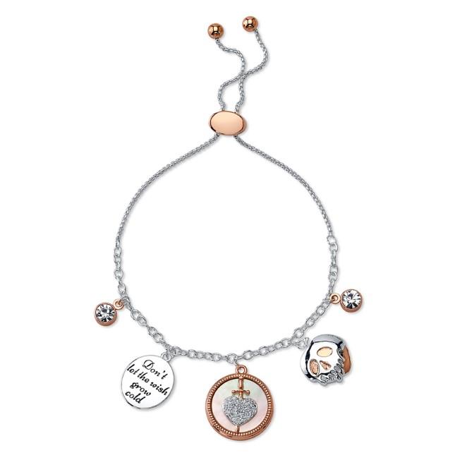 Evil Queen Charm Bolo Bracelet