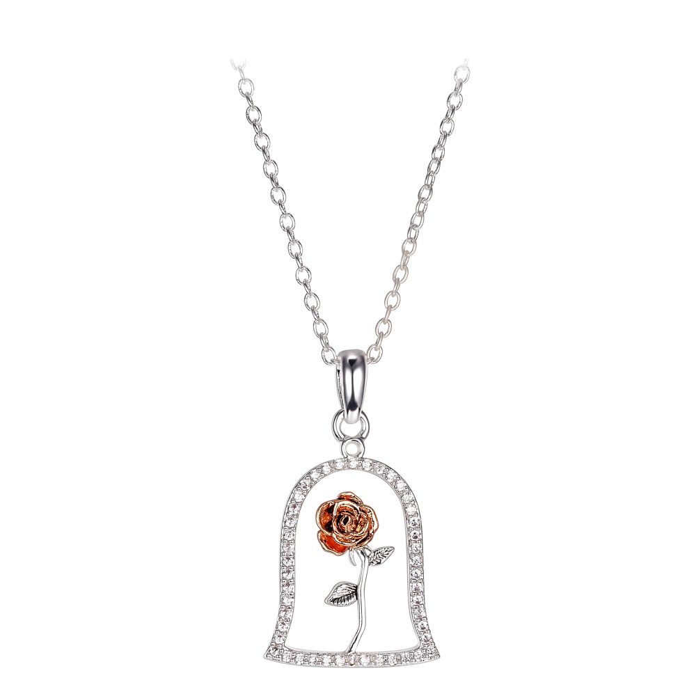 Enchanted Rose Necklace – Beauty and the Beast